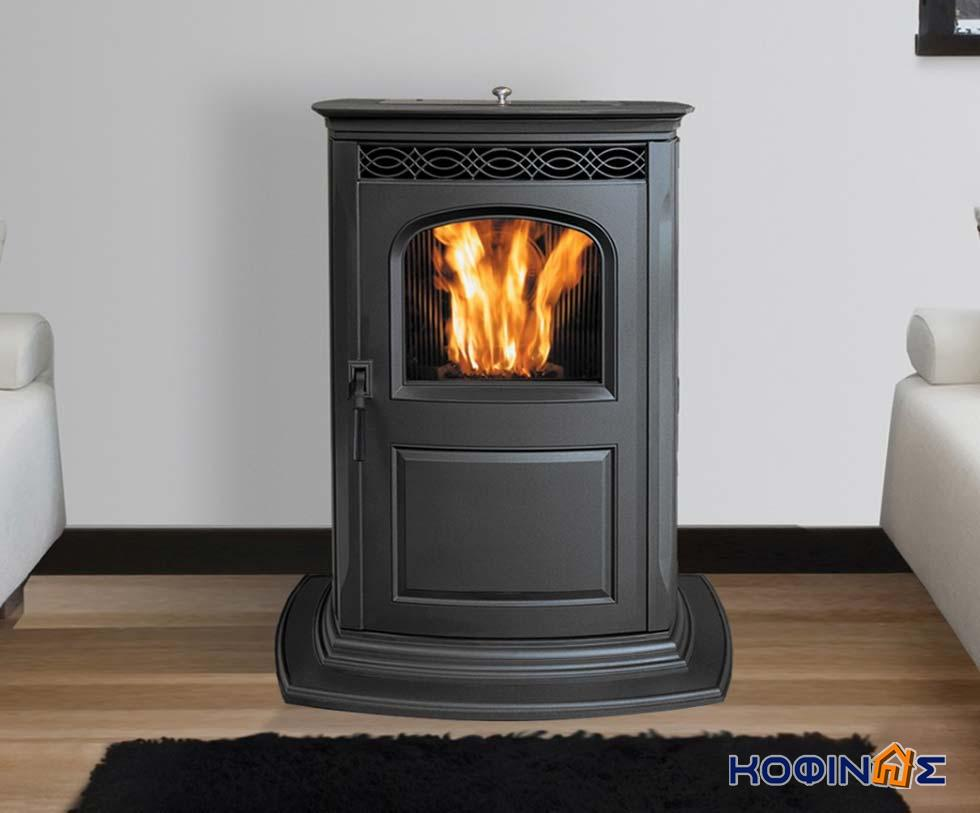 Prefabricated houses fireplaces and roof tiles for Wood stove insert for prefab fireplace