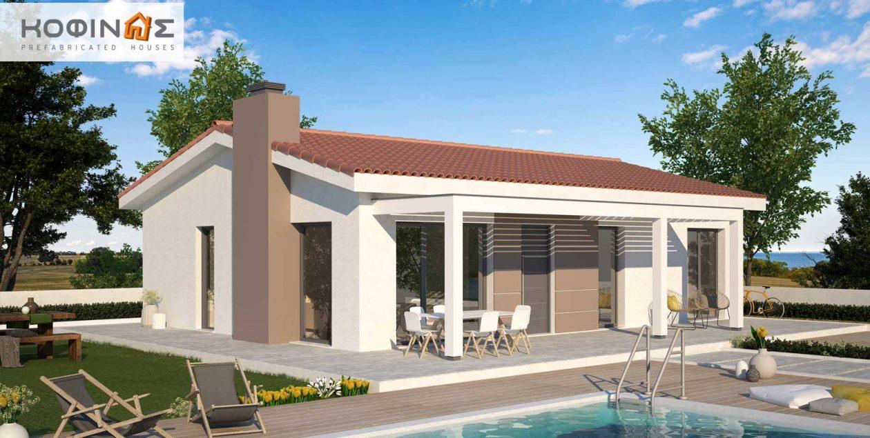 Single story house, KI1-100 (100,38 m²) – Price: 77.800€ featured image