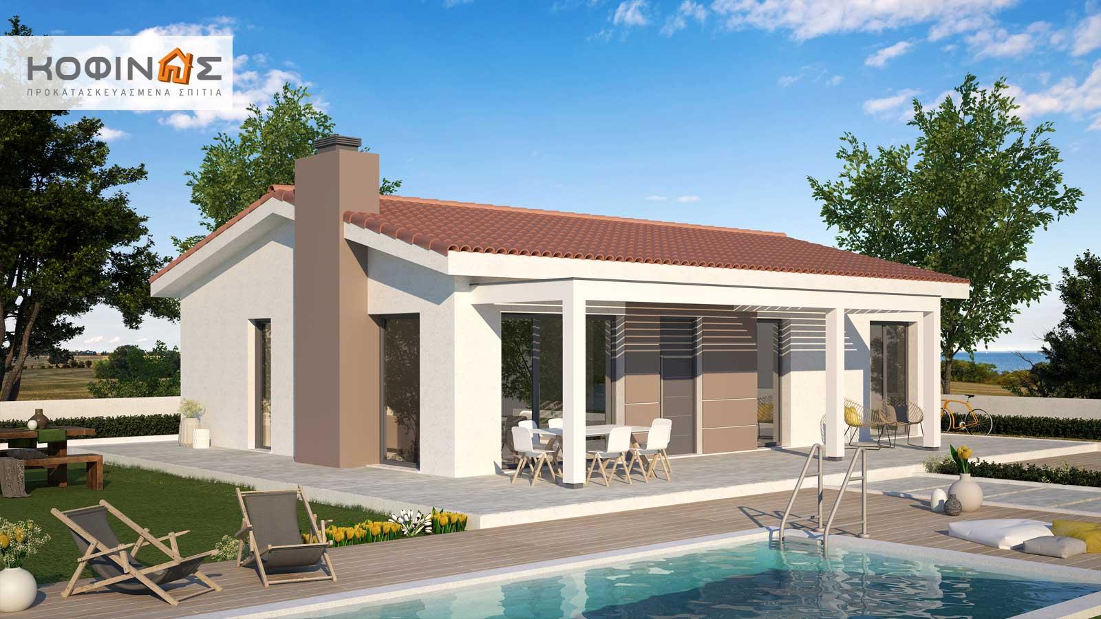 Ισόγεια Κατοικία ΚI1-100 (100,38 τ.μ.) – Τιμή: 77.800€