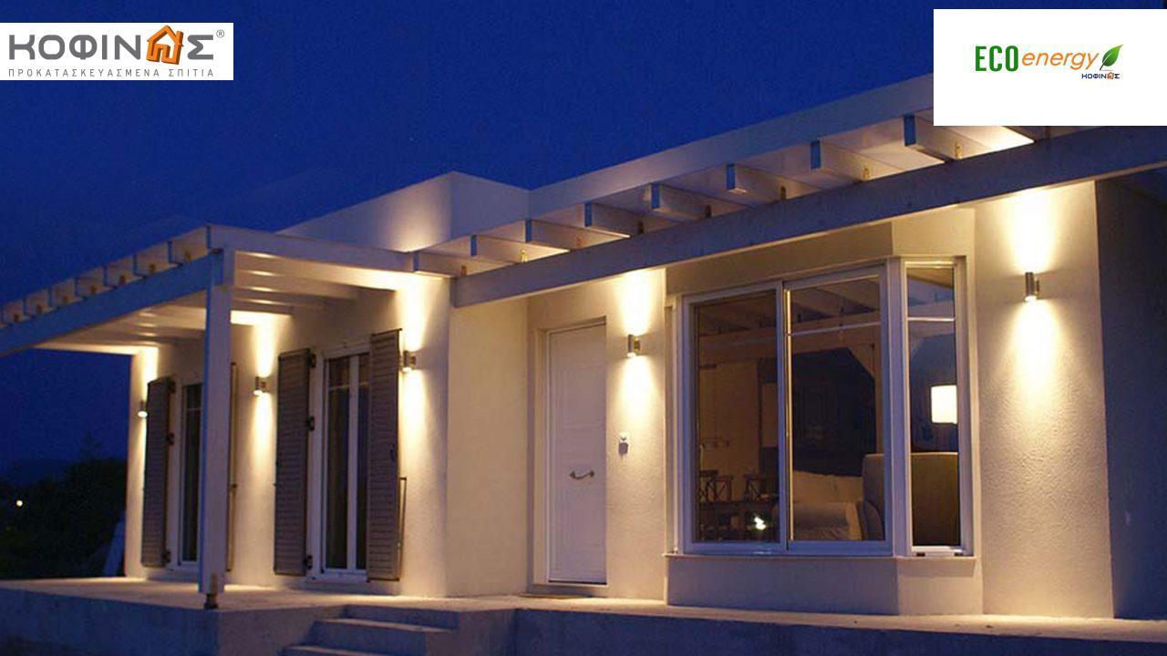 Ισόγεια Κατοικία I-106 συνολικής επιφάνειας 106,40 τ.μ., στεγασμένοι χώροι 60,60 τ.μ featured image