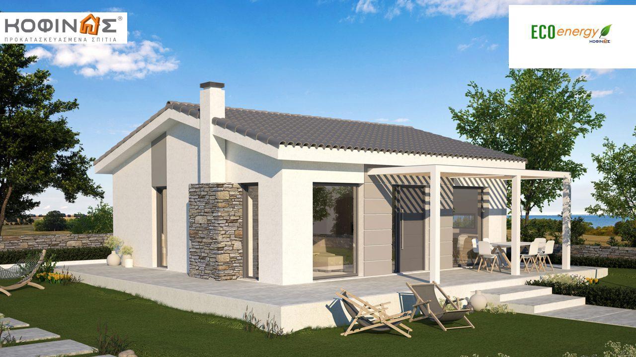 Ισόγεια Κατοικία KI1-65, συνολικής επιφάνειας 65,60 τ.μ. featured image