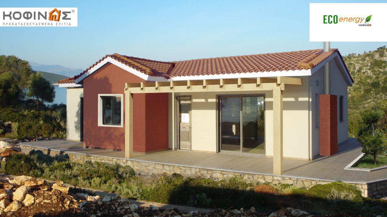 Ισόγεια Κατοικία I-94 συνολικής επιφάνειας 94,80 τ.μ., στεγασμένοι χώροι 13,30 τ.μ featured image