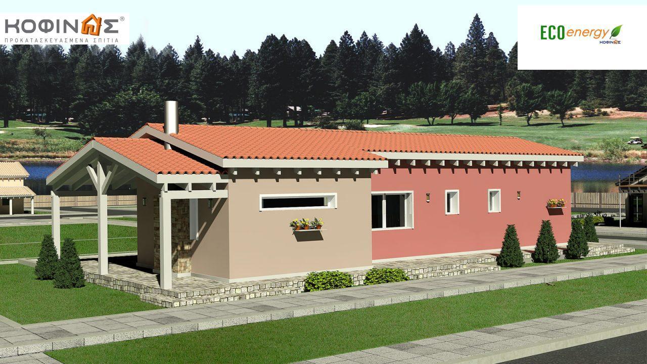 Ισόγεια Κατοικία I-102, συνολικής επιφάνειας 102,00 τ.μ.0
