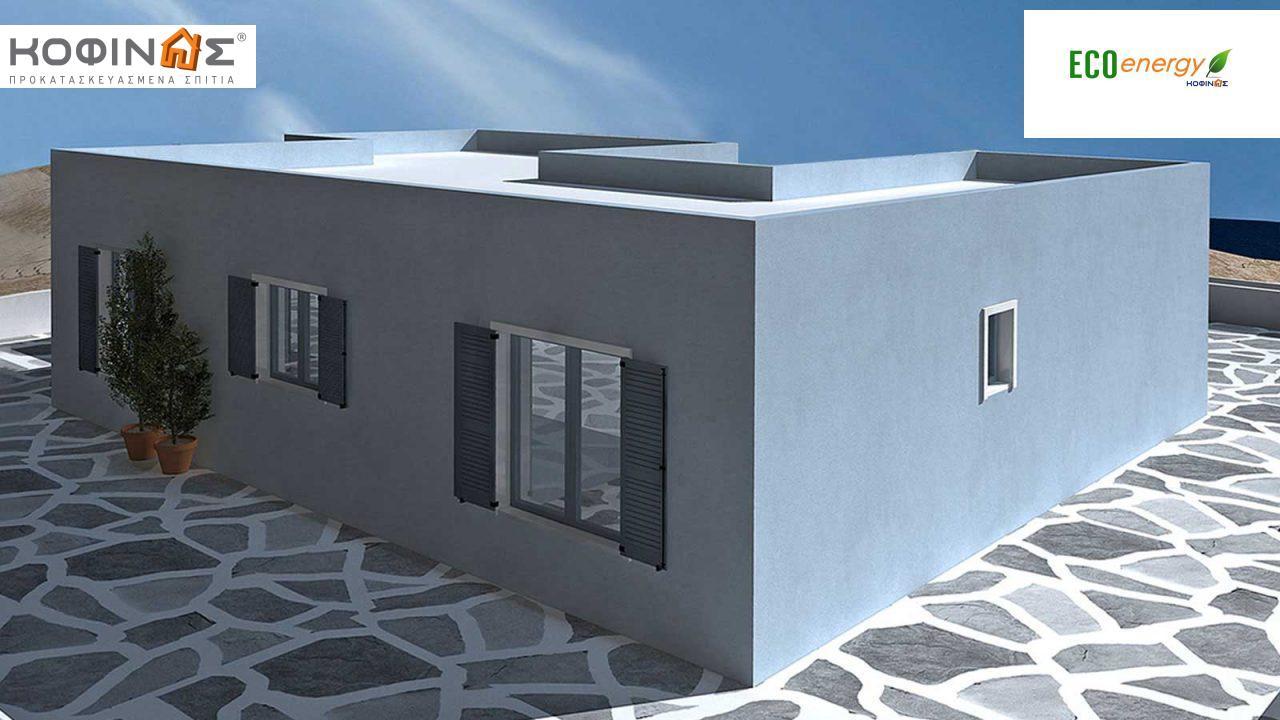 Ισόγεια Κατοικία I-93 συνολικής επιφάνειας 93,20 τ.μ., στεγασμένοι χώροι 13,80 τ.μ0