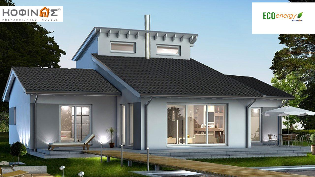 1-story house with attic IS-200, total surface of 200,00 m²,roofed areas 2,50 m² featured image