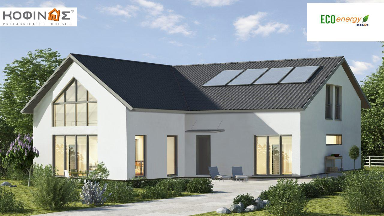 1-story house with attic IS-118a, total surface of 118,22 m² ,roofed areas 18,25 m² featured image