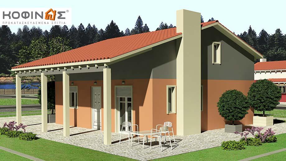 Ισόγεια Κατοικία με Σοφίτα IS-99, συνολικής επιφάνειας 99,10 τ.μ. featured image