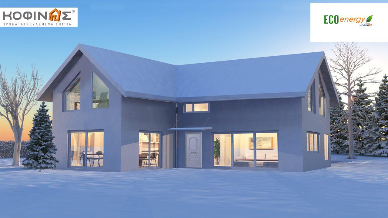Ισόγεια Κατοικία με Σοφίτα IS-115, συνολικής επιφάνειας 115,80 τ.μ. featured image