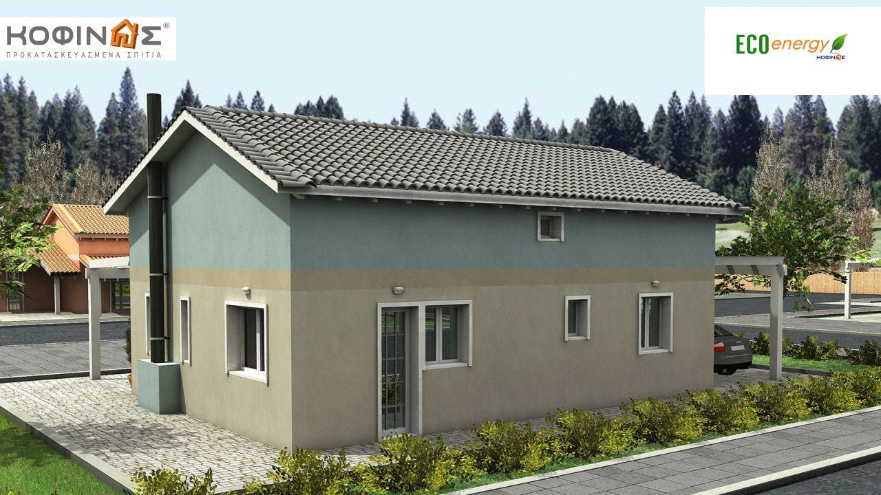 Ισόγεια Κατοικία με Σοφίτα IS-118, συνολικής επιφάνειας 118,20 τ.μ.0
