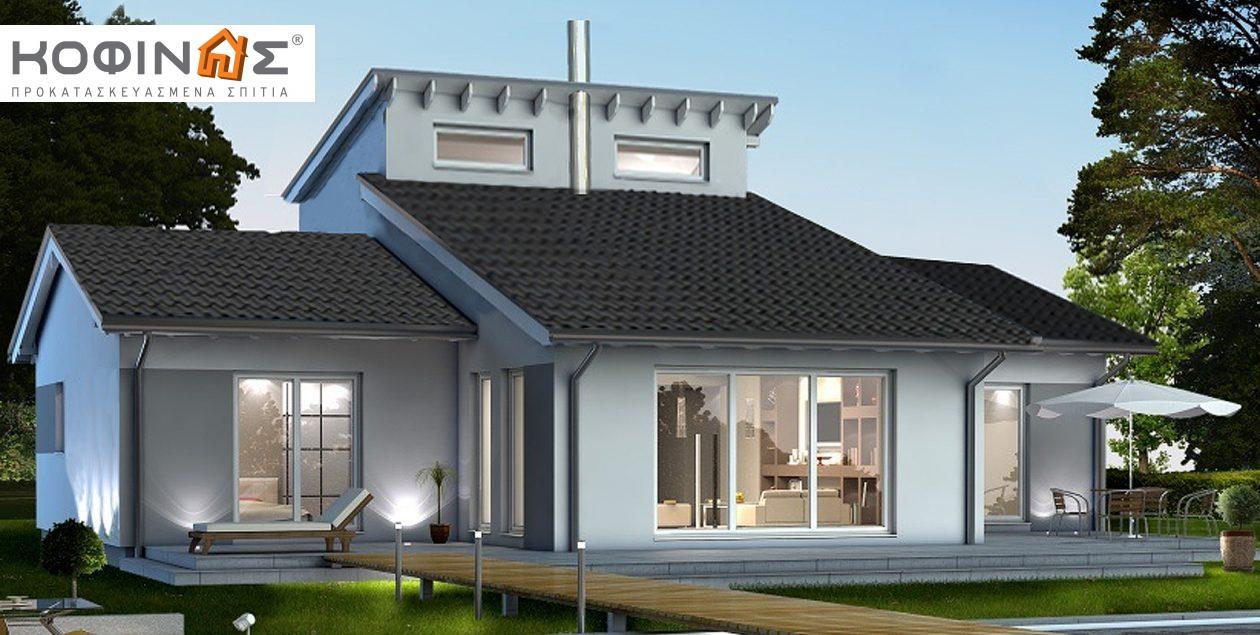 Ισόγεια Κατοικία με Σοφίτα IS-200, συνολικής επιφάνειας 200,00 τ.μ. featured image