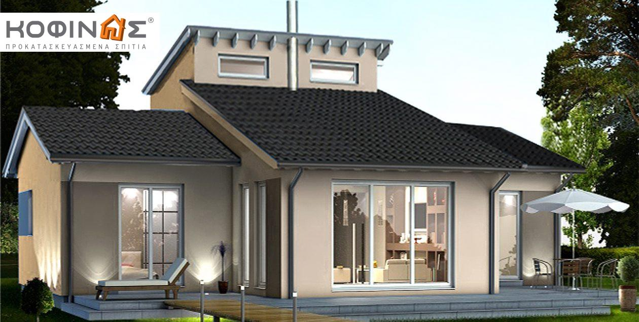Ισόγεια Κατοικία με Σοφίτα IS-138, συνολικής επιφάνειας 138,30 τ.μ. featured image
