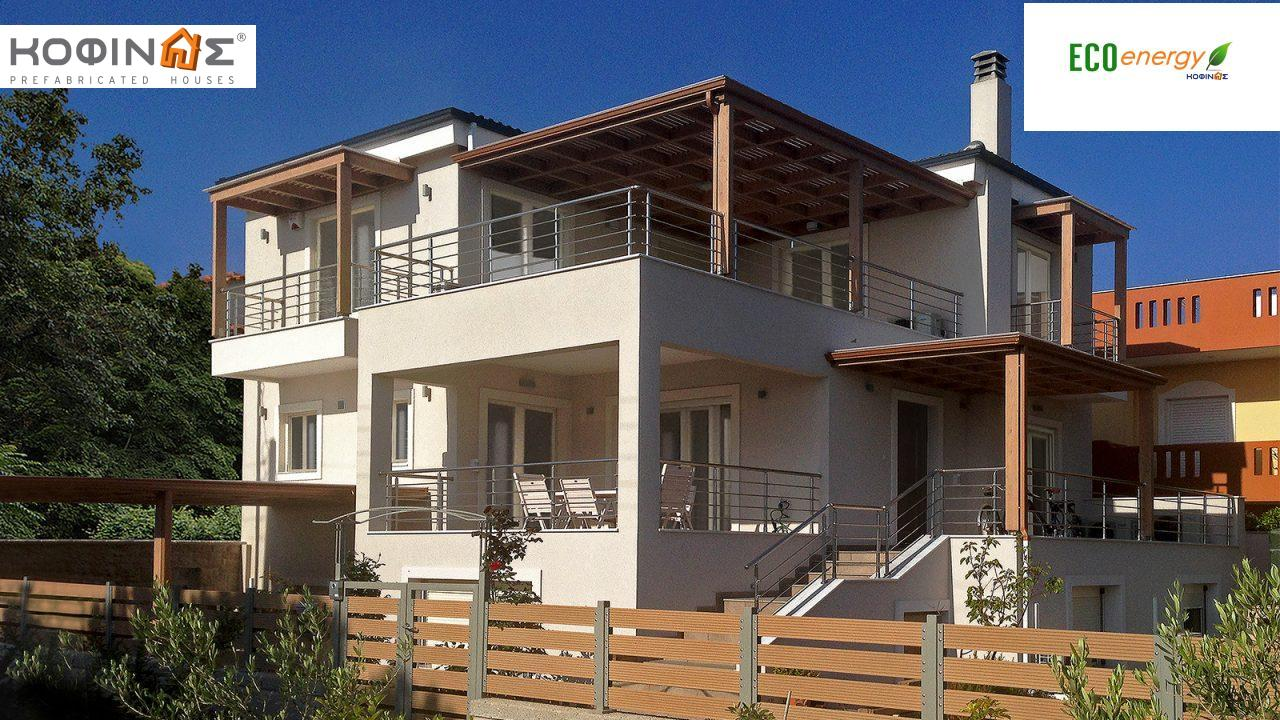 2-story house D-119, total surface of 119,35 m²,roofed areas 14,22 m²,balconies 10,30 m² featured image