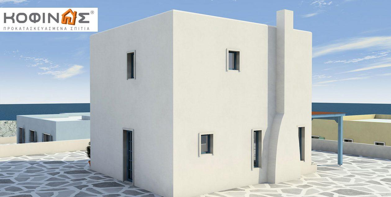 Διώροφη Κατοικία D-84, συνολικής επιφάνειας 84,70 τ.μ.0
