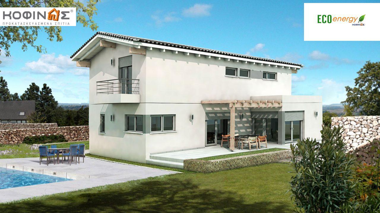 Διώροφη Κατοικία D-154, συνολικής επιφάνειας 154,70 τ.μ. featured image
