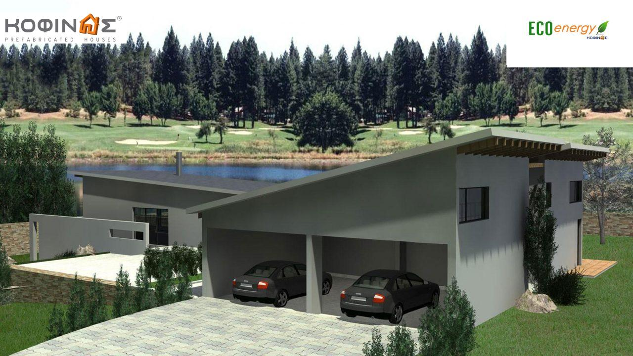 2-story house D-351, total surface of 351,80 m² , +Garage 61.75 m²(=413.55 m²),roofed areas 57.6 m²,balconies 26.00 m²2
