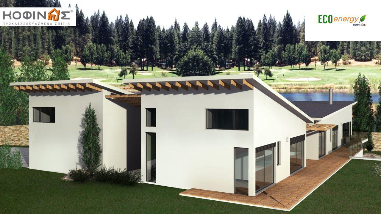 Διώροφη Κατοικία D-351, συνολικής επιφάνειας 351,80 τ.μ., συνολική επιφάνεια στεγασμένων χώρων 57.60 τ.μ., μπαλκόνια 26.00 τ.μ.1