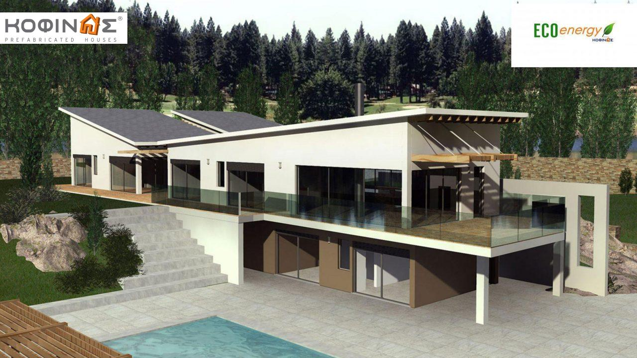 2-story house D-351, total surface of 351,80 m² , +Garage 61.75 m²(=413.55 m²),roofed areas 57.6 m²,balconies 26.00 m²0