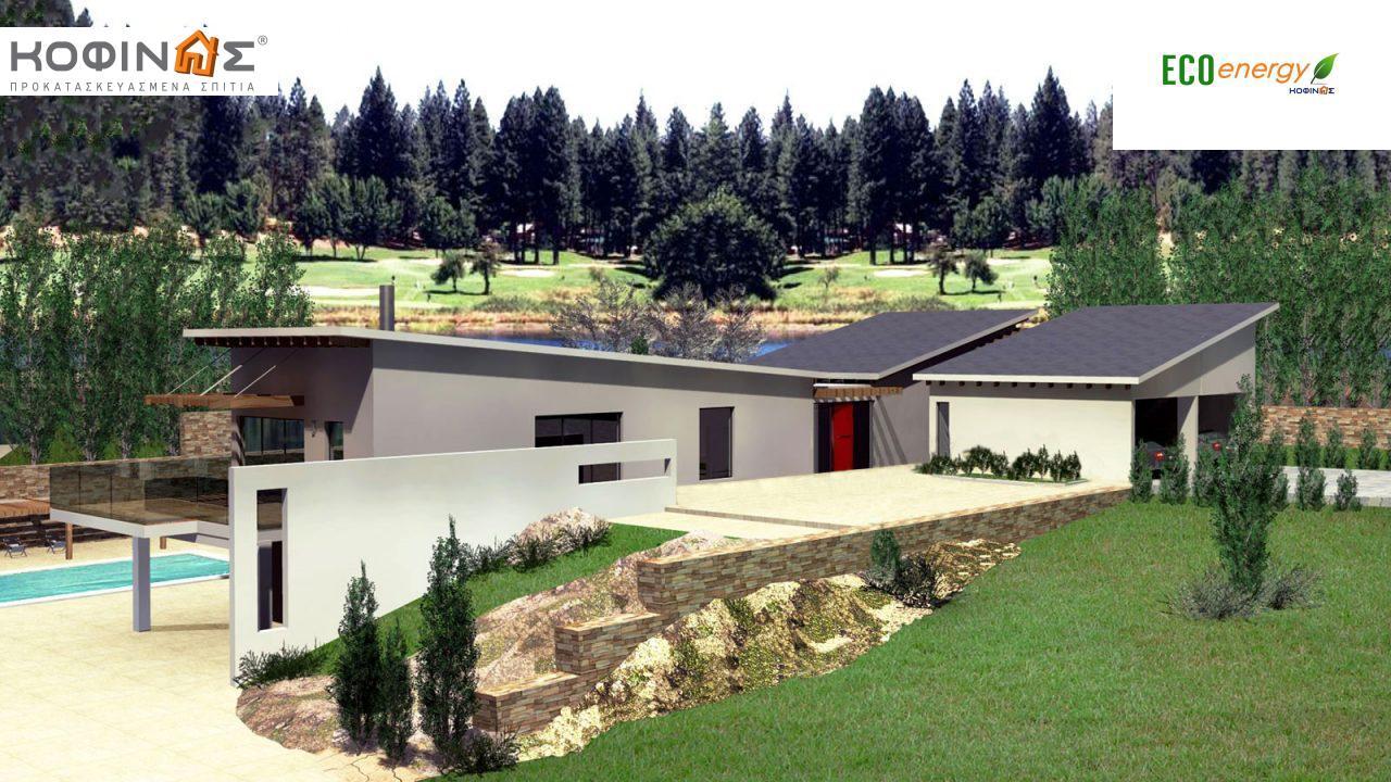 Διώροφη Κατοικία D-351, συνολικής επιφάνειας 351,80 τ.μ., συνολική επιφάνεια στεγασμένων χώρων 57.60 τ.μ., μπαλκόνια 26.00 τ.μ.3