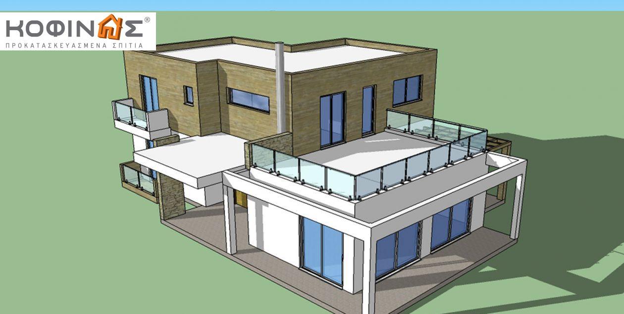 Διώροφη Κατοικία D-188, συνολικής επιφάνειας 188,60 τ.μ. featured image