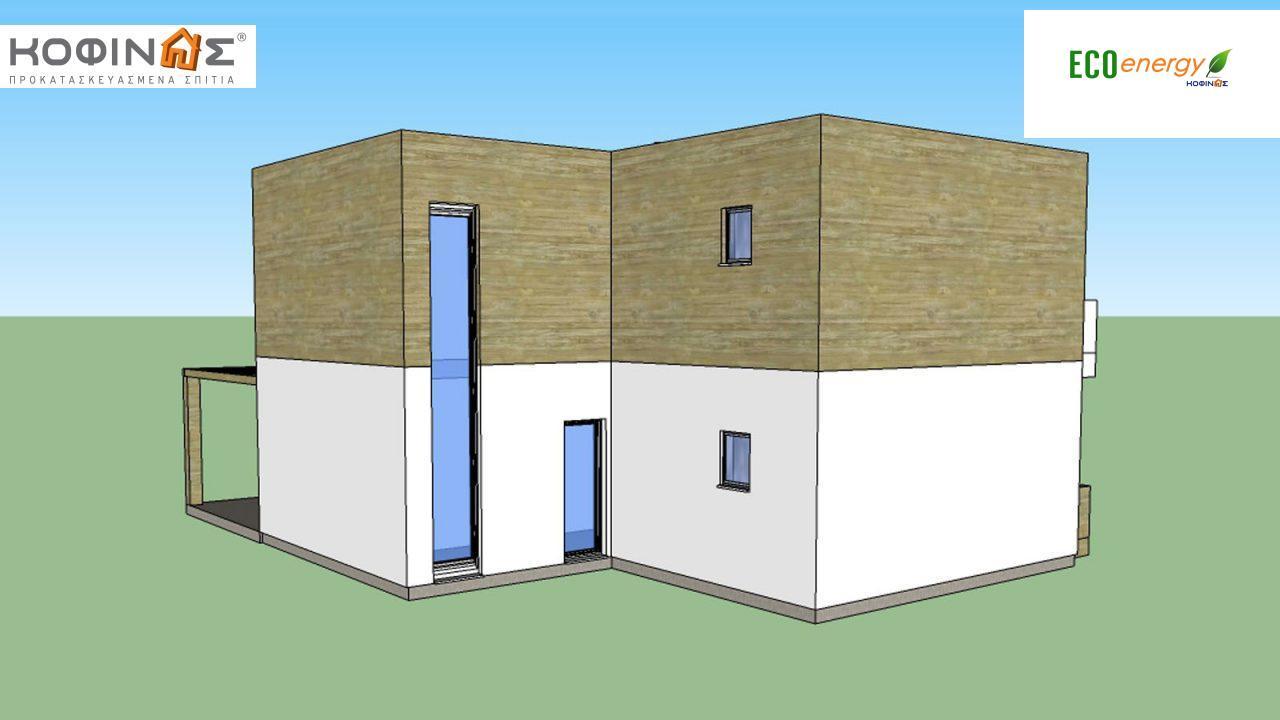 Διώροφη Κατοικία D-188, συνολικής επιφάνειας 188,60 τ.μ.2