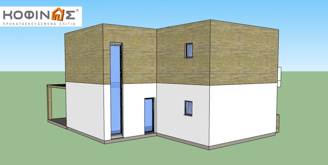 Διώροφη Κατοικία D-188, συνολικής επιφάνειας 188,60 τ.μ.1
