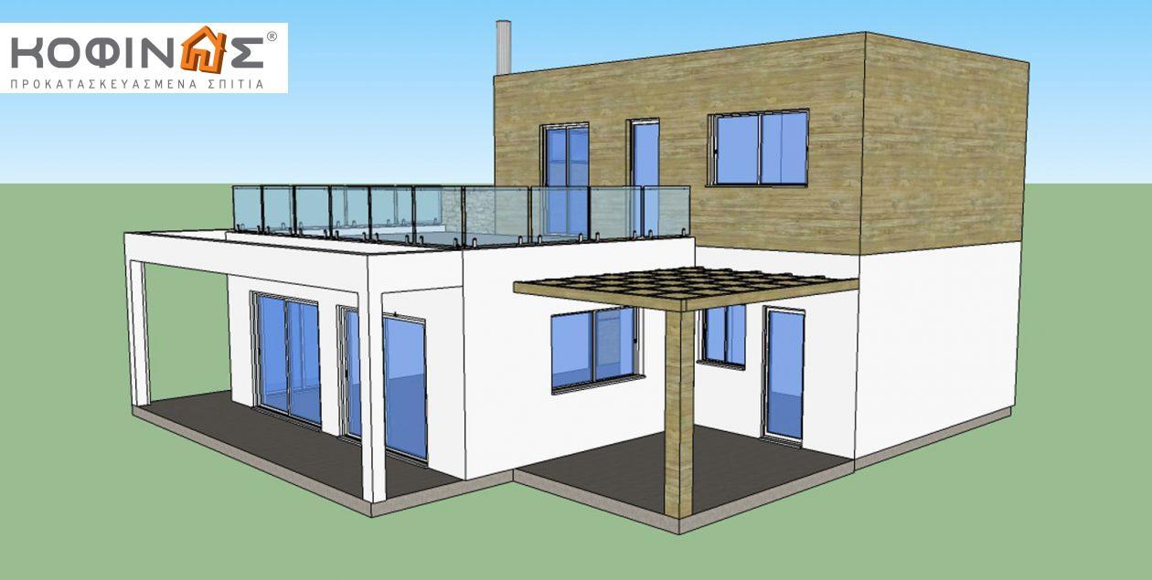 Διώροφη Κατοικία D-188, συνολικής επιφάνειας 188,60 τ.μ.0