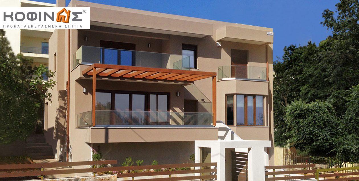 Διώροφη Κατοικία D-220, συνολικής επιφάνειας 220,70 τ.μ. featured image