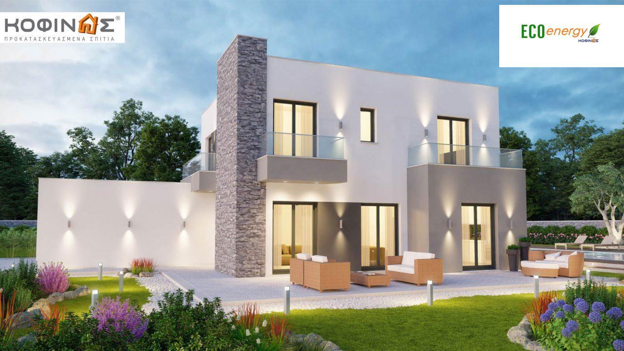 Διώροφη Κατοικία D-177, συνολικής επιφάνειας 177,46 τ.μ., +Γκαράζ 41.38 m²(=218,84 m²),συνολική επιφάνεια στεγασμένων χώρων 4.20 τ.μ., μπαλκόνια 17.04 τ.μ.1