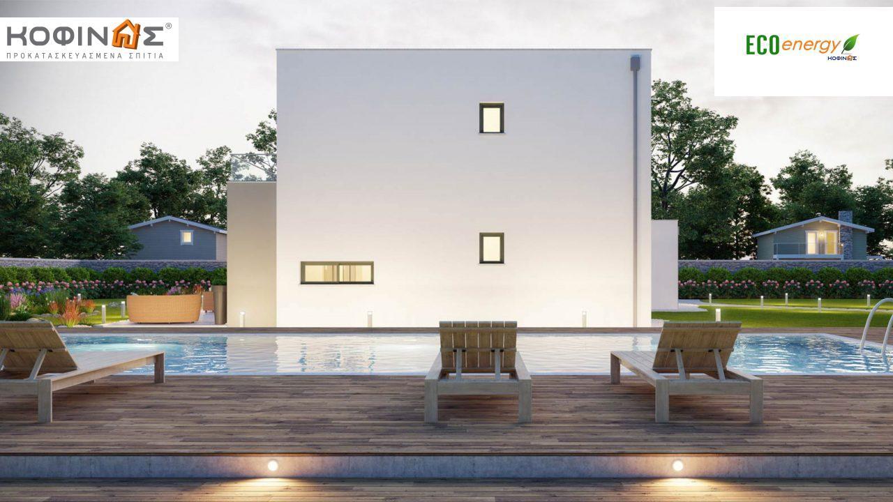 Διώροφη Κατοικία D-177, συνολικής επιφάνειας 177,46 τ.μ., +Γκαράζ 41.38 m²(=218,84 m²),συνολική επιφάνεια στεγασμένων χώρων 4.20 τ.μ., μπαλκόνια 17.04 τ.μ.3