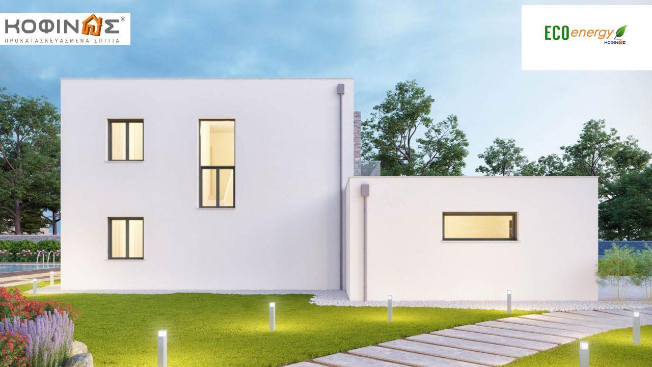 Διώροφη Κατοικία D-177, συνολικής επιφάνειας 177,46 τ.μ., +Γκαράζ 41.38 m²(=218,84 m²),συνολική επιφάνεια στεγασμένων χώρων 4.20 τ.μ., μπαλκόνια 17.04 τ.μ.4