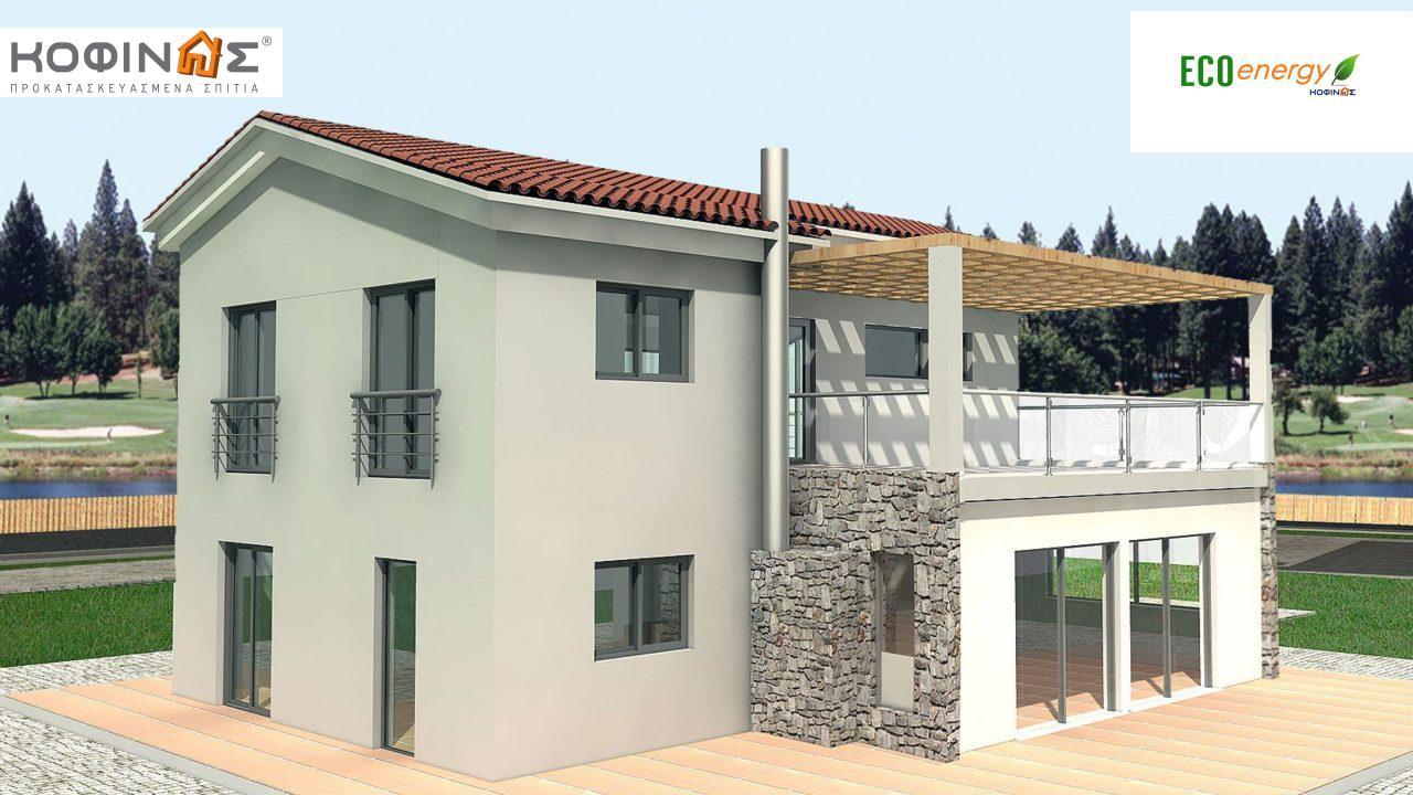 Διώροφη Κατοικία D-178, συνολικής επιφάνειας 178,80 τ.μ.2