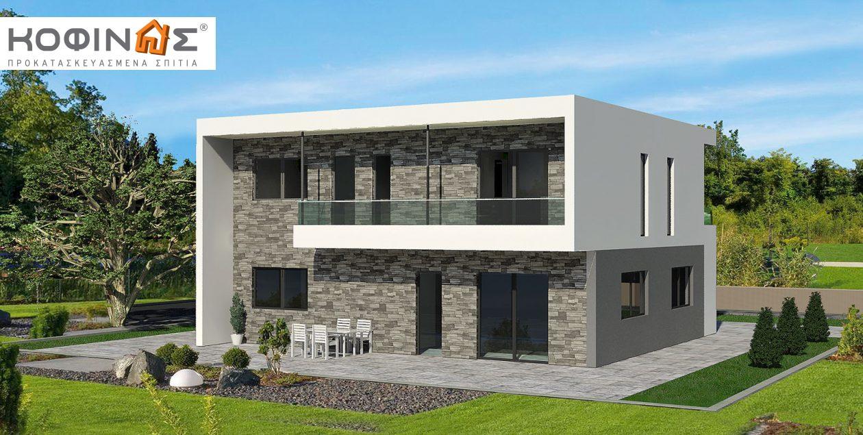Διώροφη Κατοικία D-200, συνολικής επιφάνειας 200,10 τ.μ. featured image