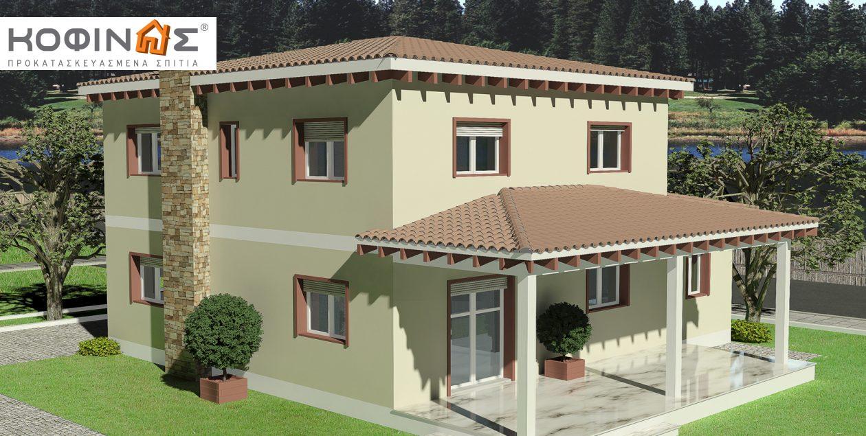Διώροφη Κατοικία D-181, συνολικής επιφάνειας 181,90 τ.μ.1