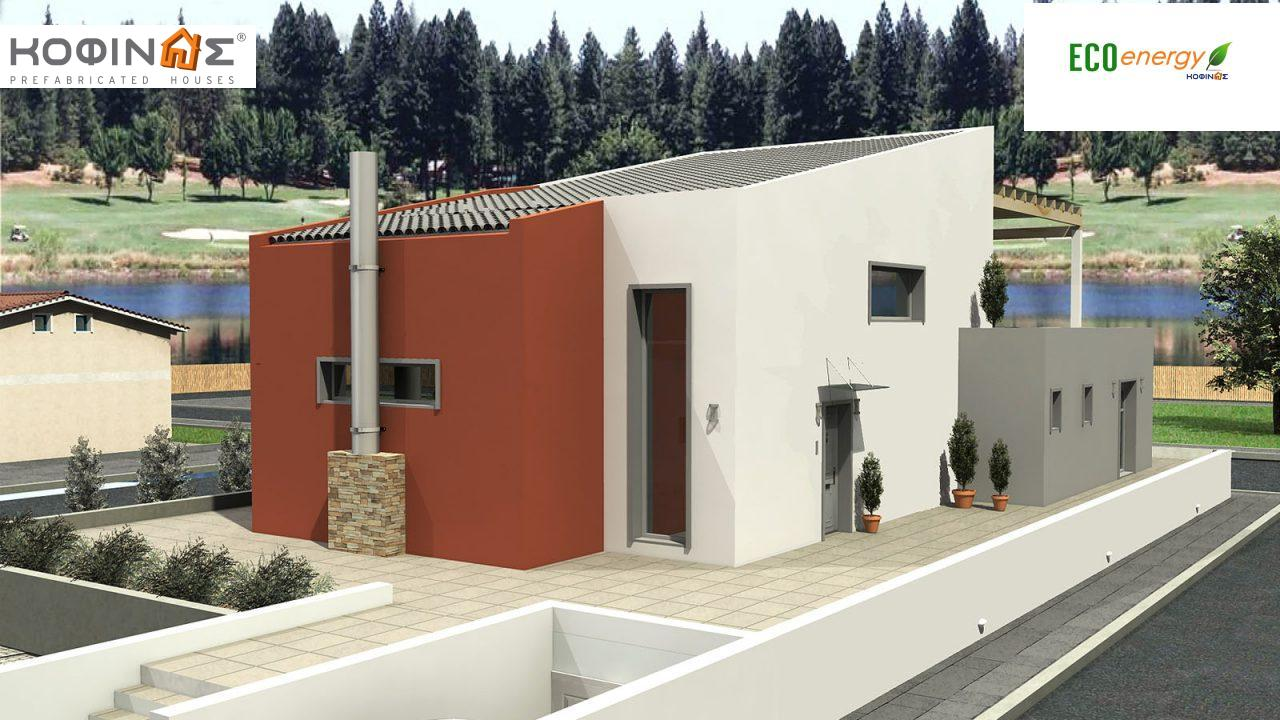 2-story house D-206, total surface of 206,30 m² ,roofed areas 58.91 m²,balconies 93.55 m²1