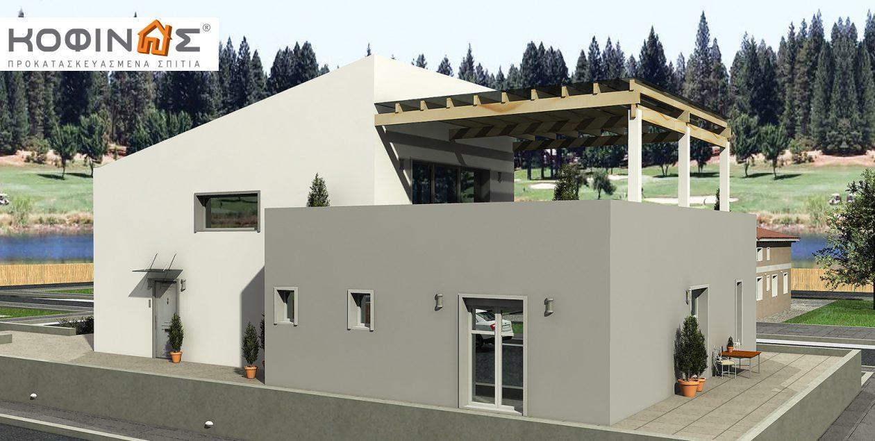 Διώροφη Κατοικία D-206, συνολικής επιφάνειας 206,30 τ.μ.1