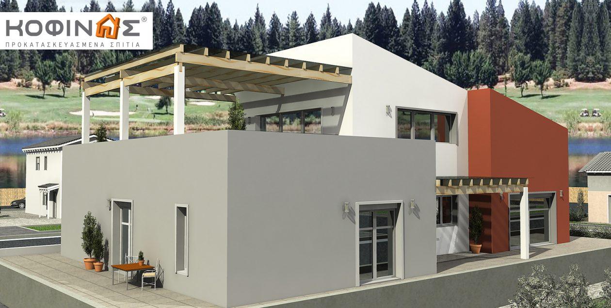Διώροφη Κατοικία D-206, συνολικής επιφάνειας 206,30 τ.μ.0