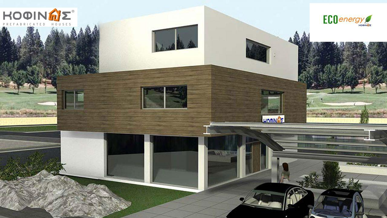 3-story office building with attrium E-436, total space of 436,30 m²,roofed areas 27,98 m² featured image