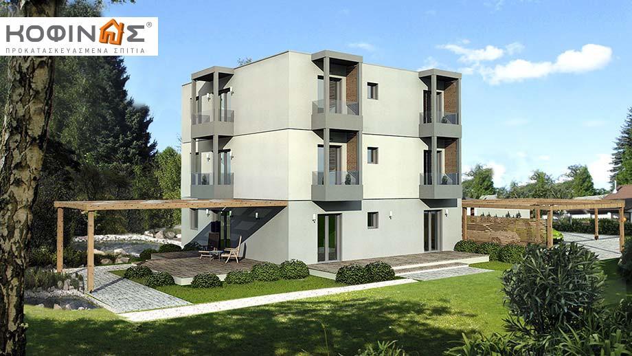 Τριώροφη Κατοικία T-288, συνολικής επιφάνειας 288,50 τ.μ. featured image