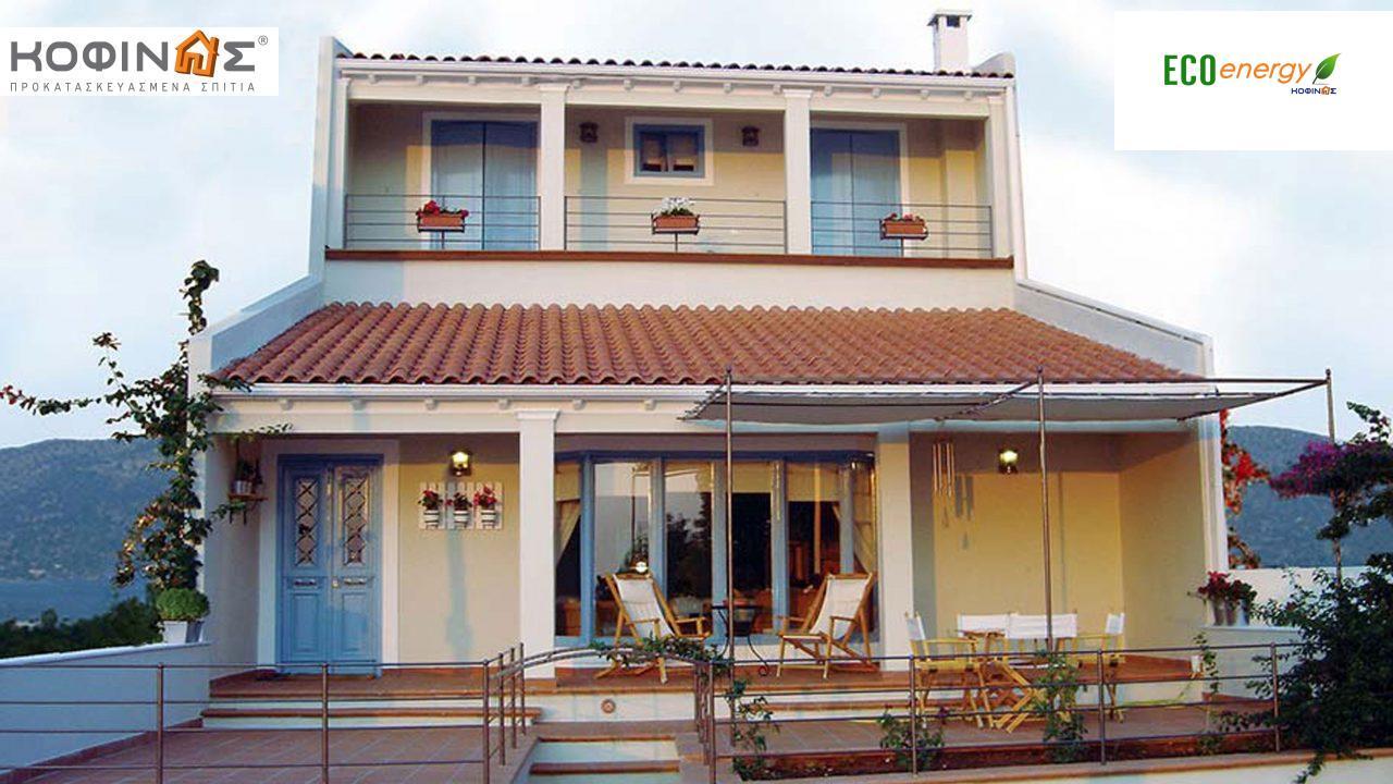 Τριώροφη Κατοικία T-160, συνολικής επιφάνειας 160,90 τ.μ. ,συνολική επιφάνεια στεγασμένων χώρων 64,10 τ.μ., μπαλκόνια 10,20τ.μ. featured image
