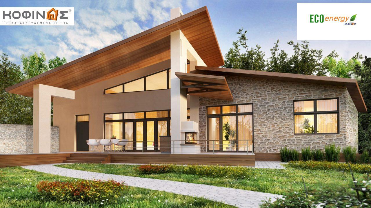 Ισόγεια Κατοικία I-108 συνολικής επιφάνειας 108,40 τ.μ., στεγασμένοι χώροι 34,38 τ.μ featured image