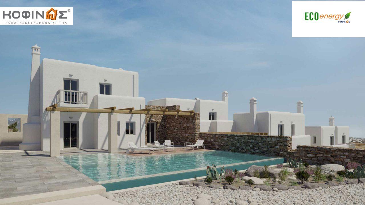 Διώροφη Κατοικία E-82, συνολικής επιφάνειας 82,30 τ.μ., στεγασμένοι χώροι 2.00 m²1