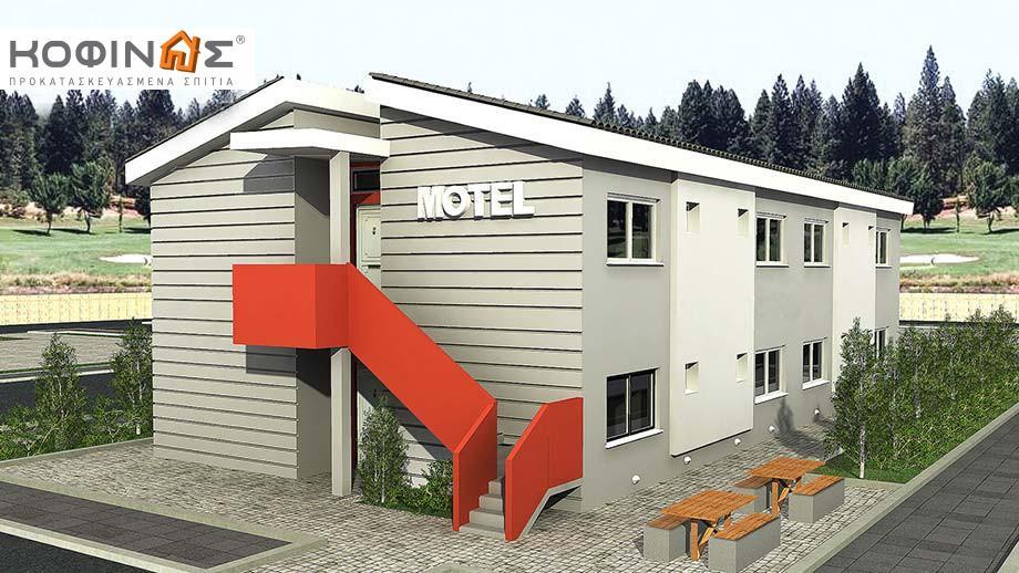 Διώροφο Motel E-394, συνολικής επιφάνειας 394,50 τ.μ. featured image