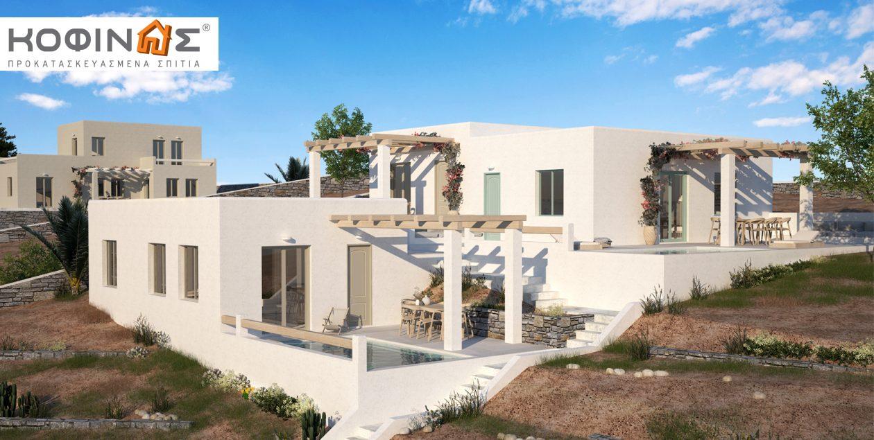 Συγκρότημα Κατοικιών E-50, συνολικής επιφάνειας 3 x 50,30 = 150,90 τ.μ. featured image