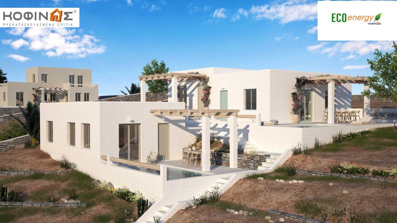 Συγκρότημα Κατοικιών E-50, συνολικής επιφάνειας 3 x 50,30 = 150,90 τ.μ., συνολική επιφάνεια στεγασμένων χώρων 40.67 m² featured image