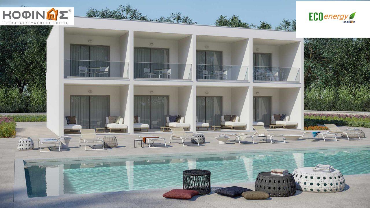 Συγκρότημα Κατοικιών E-62, συνολικής επιφάνειας 4 x 62,60 = 250,40 τ.μ., συνολική επιφάνεια στεγασμένων χώρων 85.04 τ.μ. featured image