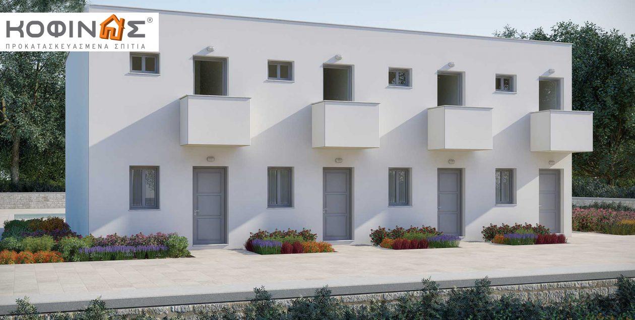 Συγκρότημα Κατοικιών E-62, συνολικής επιφάνειας 4 x 62,60 = 250,40 τ.μ.0