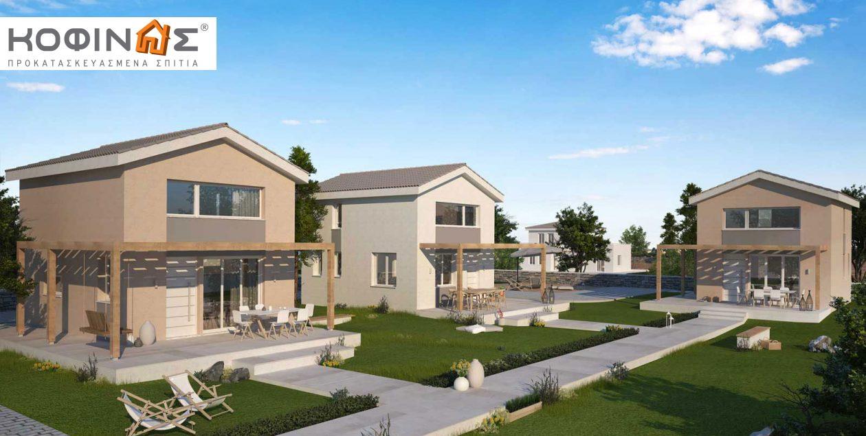Συγκρότημα Κατοικιών E-63, συνολικής επιφάνειας 3 x 63,35 = 190,05 τ.μ. featured image