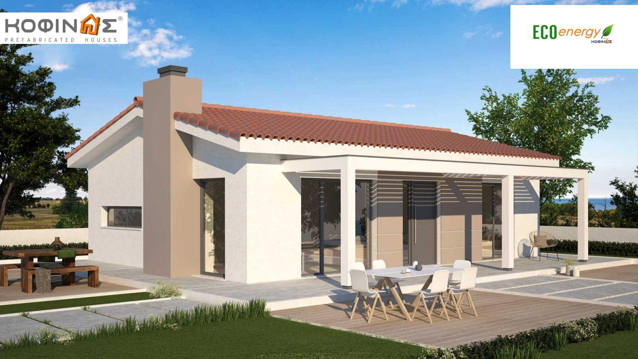 Single story house, KI1-85 (85,80 m²) featured image
