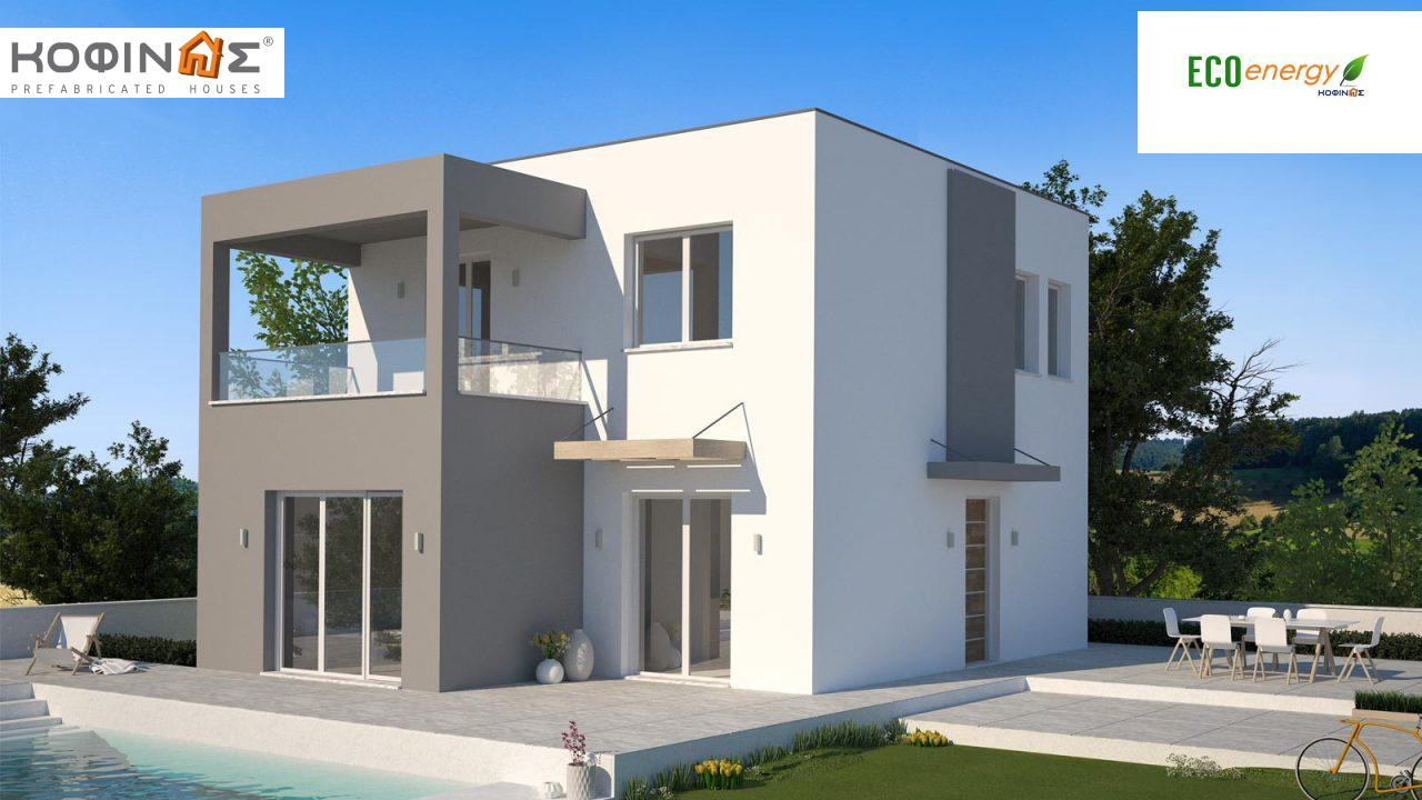 Two story house, KD1-125 (125,84 m²) featured image