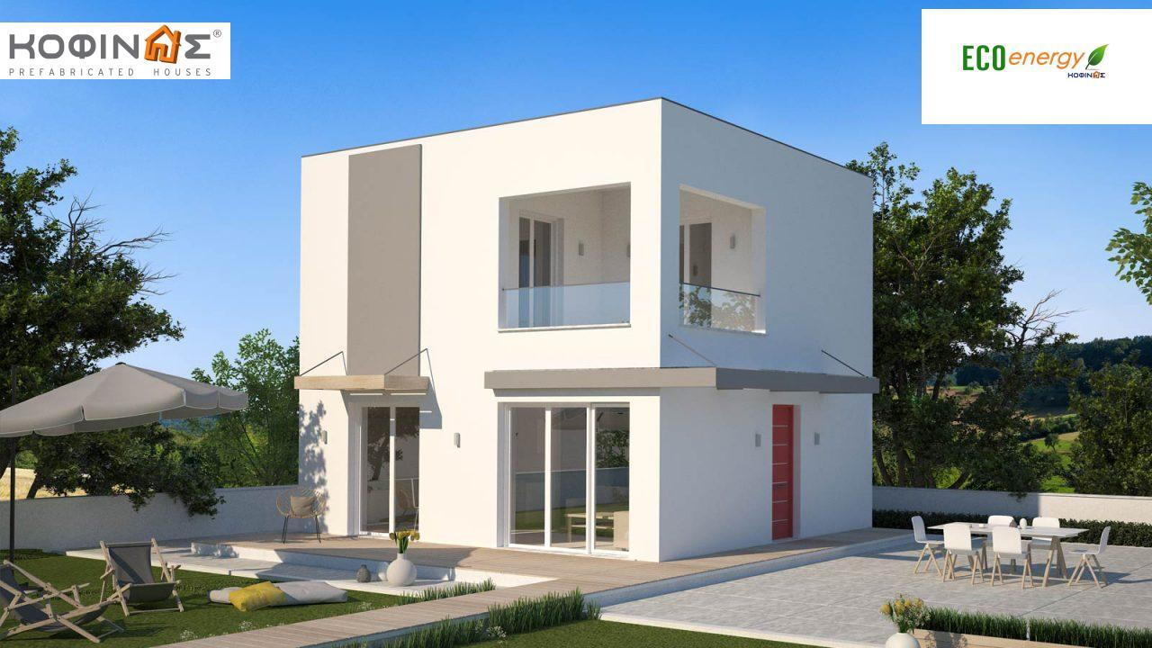 Two story house, KD1-95 (95,70 m²) featured image